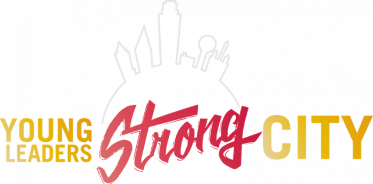 Rising Blazers Young Leaders Strong City logo