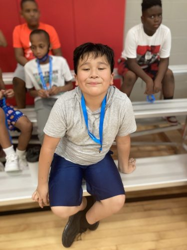 Rising Blazers YMCA Dallas Park South boy smiling